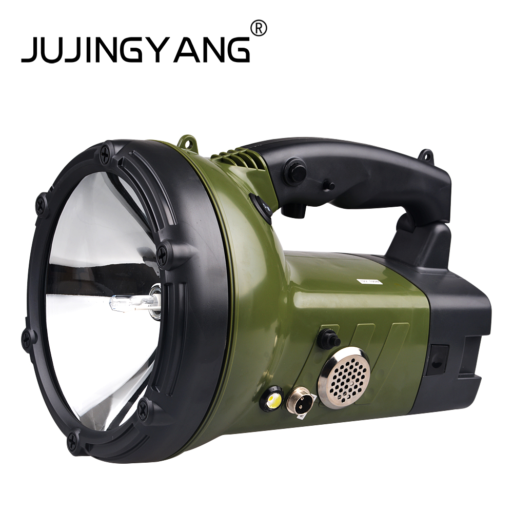Portable Spotlight 100W HID Xenon Searchlight Boat High power Rechargeable 220W hunting military Flashlight
