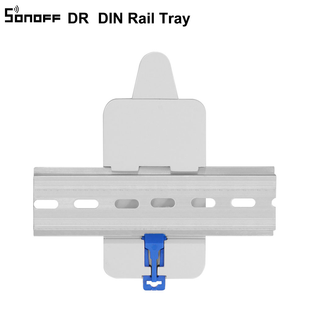 Access Control Official Website Sonoff Dr Din Rail Tray Itead Adjustable Mounted Rail Case Holder Solution For Sonoff Switch Mounted Onto The Guide Track Kit