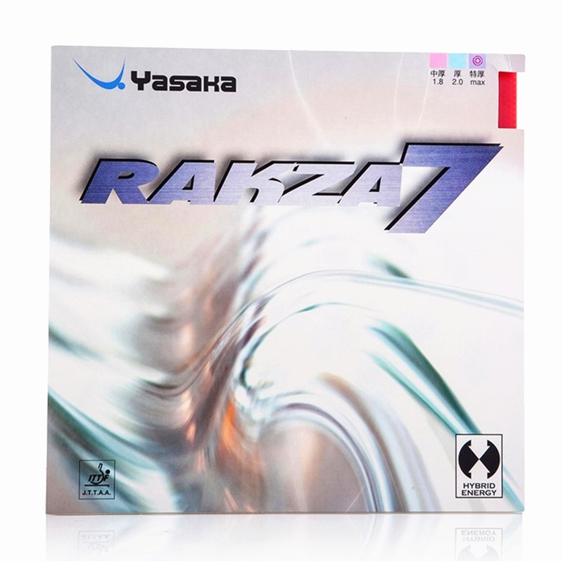 YASAKA Table Tennis Rubber RAKZA 7 Fast Attack+ Loop Pimples In With Sponge Ping Pong Tenis De Mesa