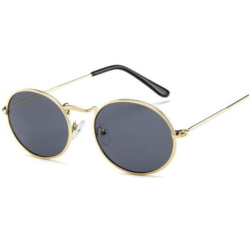 05b9e11de8 Gafas De Sol redondas Retro De 2018 para mujer, gafas De Sol De marca De  diseñador para hombre, gafas De Sol De aleación para mujer, gafas De Sol  para mujer
