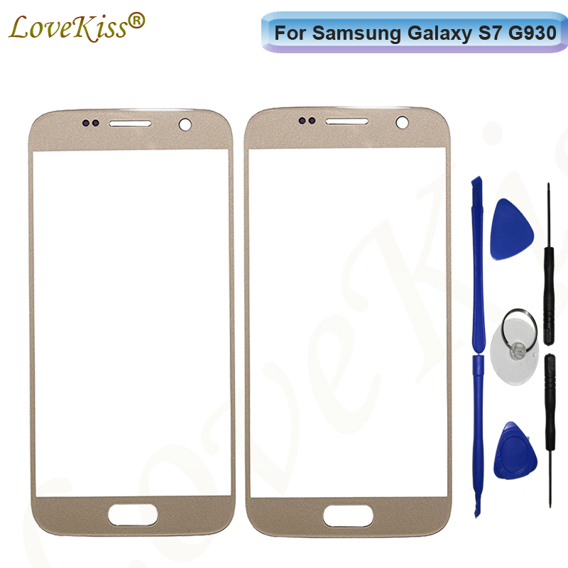 <font><b>S7</b></font> Touchscreen Panel For <font><b>Samsung</b></font> <font><b>Galaxy</b></font> <font><b>S7</b></font> G930 G930F <font><b>G930FD</b></font> Touch Screen Sensor LCD <font><b>Display</b></font> Digitizer Glass Cover Replacement image