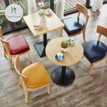 Луи Мода кафе мебель Наборы чайный магазин десерт Снэк бар стол и стул комбинация