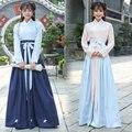 2017 весна deisgn китайский народный танец танец одежды древний костюм принцесса hanfu guzheng платья косплей одежда