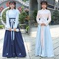 2017 primavera deisgn danza folk chino guzheng ropa de baile hanfu antiguo traje de la princesa vestidos ropa cosplay