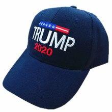 2020 Donald Trump sombrero de algodón sombrero de béisbol reelección  mantener América bordado ee.uu. bandera MAGA Cap 80966a0065c