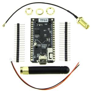 Image 4 - LILYGO®TTGO LORA32 V1.0 868/915Mhz ESP32 LoRa OLED Display Da 0.96 Pollici Bluetooth WIFI ESP32 ESP 32 Modulo con Antenna