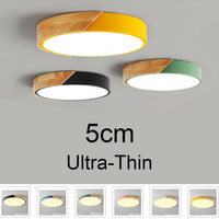 Nordic Wood led Ceiling Light Lamp Living Room Lighting Fixture Bedroom Kitchen Surface Mount Ceiling Lights round base ceiling