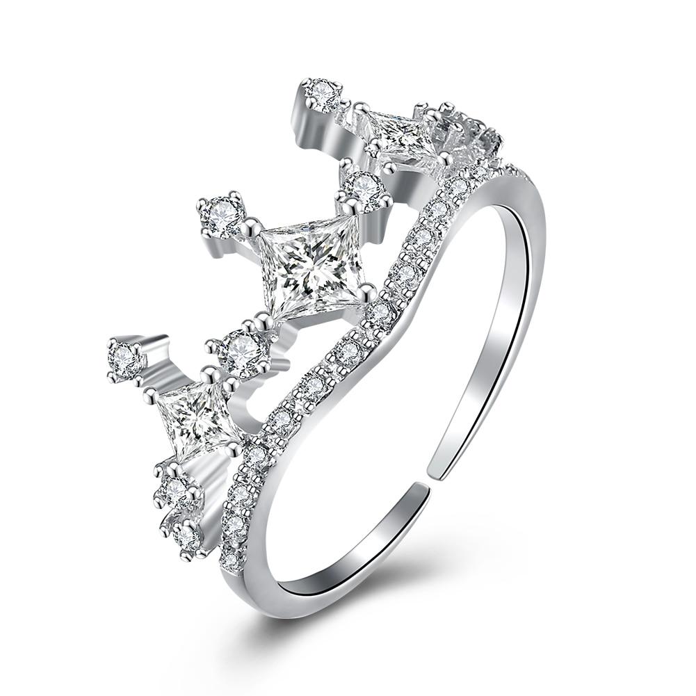 por queen crown ring design