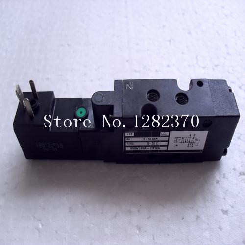 [SA] New original authentic special sales NORGREN solenoid valve V08N516A-E312A spot gzgmet spring ring for audio video cctv camera bnc female jack coupler wire connector