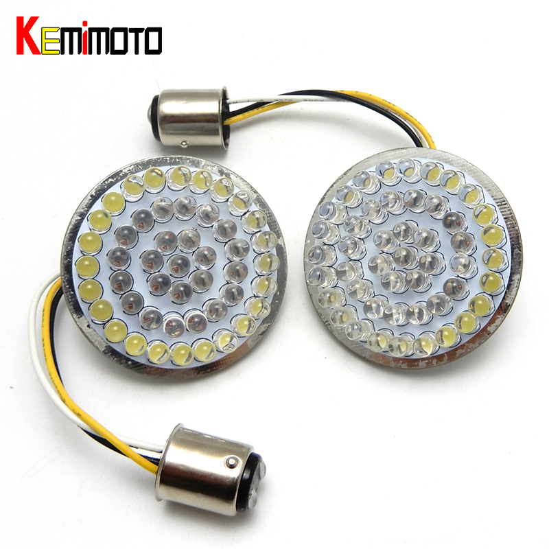 "Здесь продается  Motorcycle 2"" Bullet Style 1157 Turn Signal LED Inserts For Harley Softail 2011-2017 Dyna 2012-2017 Sportster Touring 2014-2017   Автомобили и Мотоциклы"