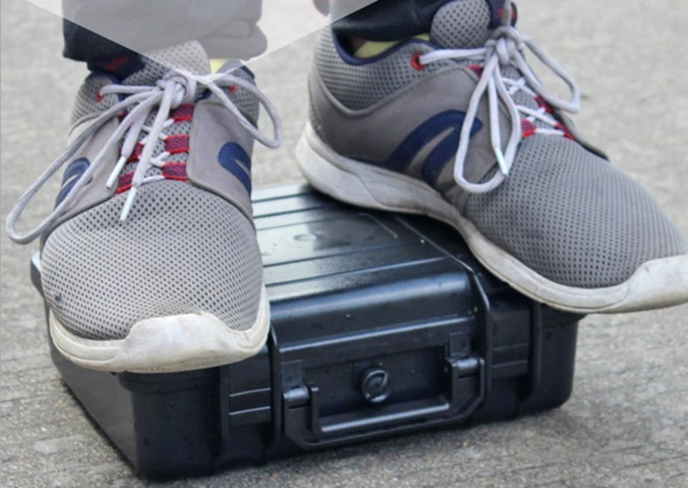270*230*100 мм Водонепроницаемый случае инструмент Toolbox Камера корпусом прибора окне чемодан ударопрочный герметичный с предварительно -cut пена ... ...