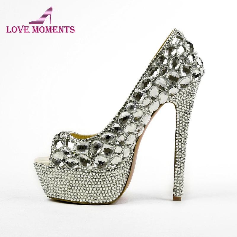 92ce4b57cbd52 الأزياء الراين الأحذية فائقة منصة عالية الكعب سيدة أحذية الزفاف اللمحة تو  اللباس مضخات حزب أحذية الزفاف اللباس أحذية رسمية