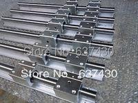 3 adet lineer ray SBR20 L1397/1524/1778mm + 6 adet SBR20UU doğrusal açık blok rulmanlar