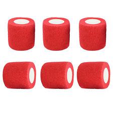 Self-Adhesive Elastic First Aid Medical Health Care Treatment Bandage Gauze Tape 5cm self adhesive bandage 100% cotton fitted sports bandage elastic tape medical