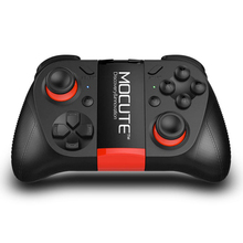 050 VR MOCUTE Game Pad Android Joystick Bluetooth Controller Selfie Remote Control Shutter Gamepad for PC Smart Phone + Holder