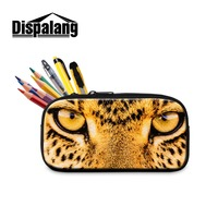 Dispalang Cosmetic Cases Cool Animal Tiger Pencil Bags For Boys Fashion Pen Bag Cute Owl Printed