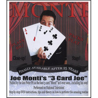 3 Card Joe X Large Cards 11X16 On Heavy Card Stock Worldwide Performance Rights With Instructiongs