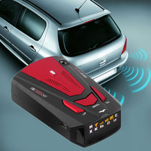 Russian English Voice 360 Degree Anti Police Radar Detector V7 For Car Speed Limited GPS Radar Detector