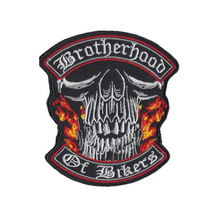 Heavy Metal Punk Biker Embroidered Sew On Iron On Patch Badge Fabric Applique Craft Transfer Welcome to create your own patch mc1931 breed penna m c embroidered full back of jacket biker patch iron on sew on vest jeans applique badge