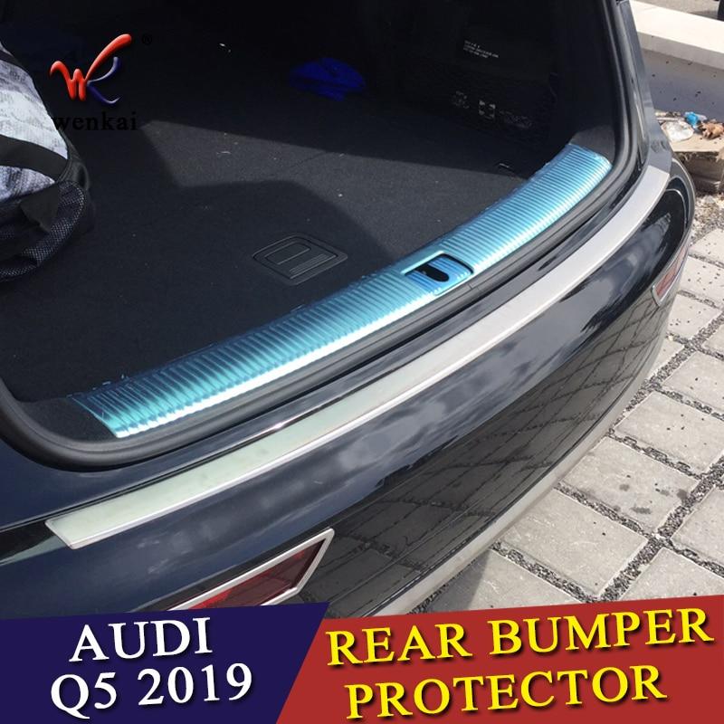 ACCESSORIES FIT FOR Audi Q5 2018 2019 REAR BUMPER