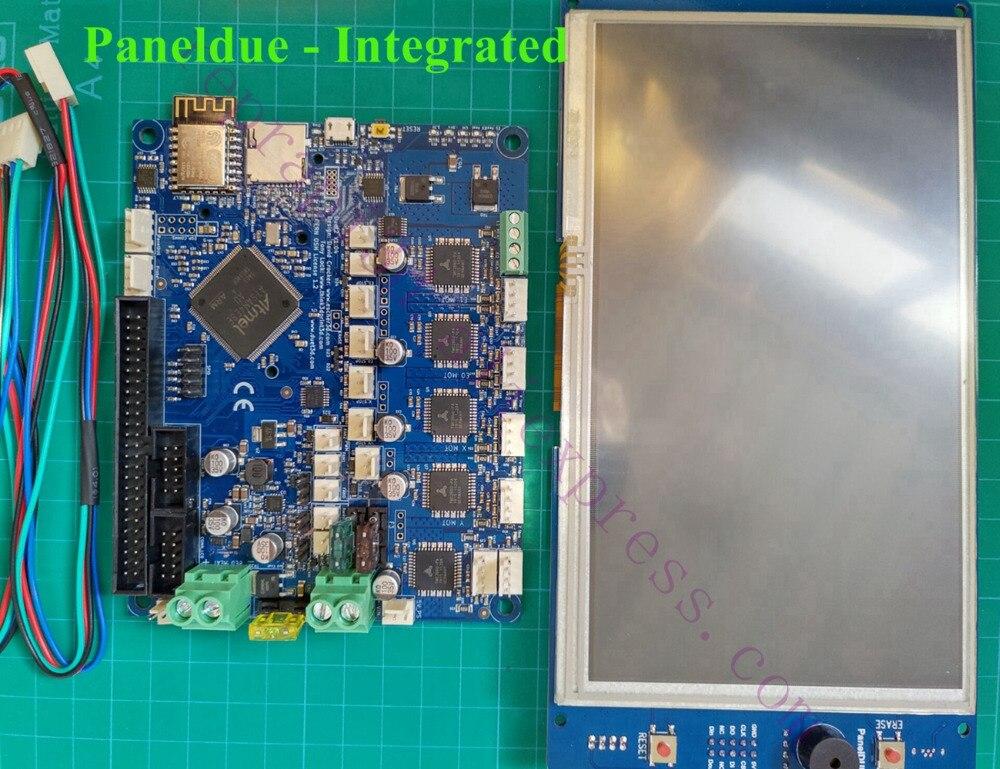 Duet 2 WIFI V1.04 เมนบอร์ด clone Duet WIFI Controller board w/PanelDue 7i PanelDue 5i 4.3i หน้าจอแบบบูรณาการสำหรับ 3D เครื่องพิมพ์-ใน ชิ้นส่วนและอุปกรณ์เสริมเครื่องพิมพ์ 3D จาก คอมพิวเตอร์และออฟฟิศ บน AliExpress - 11.11_สิบเอ็ด สิบเอ็ดวันคนโสด 1