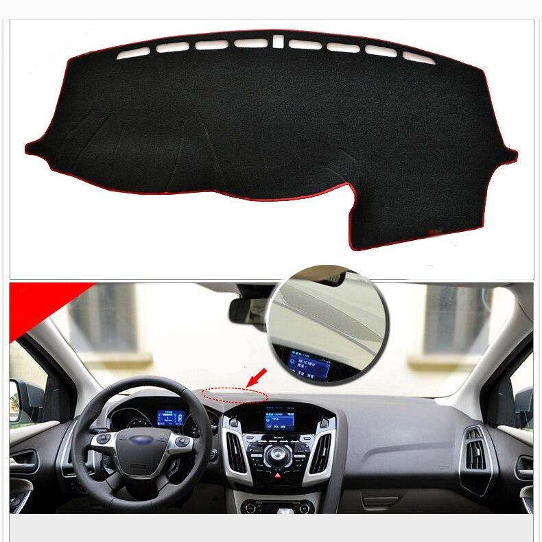 Tapis de protection pour tableau de bord intérieur tapis de protection pour Ford Focus 2012-2014