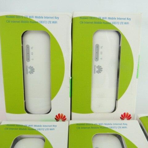 Lot of 5pcs Unlocked Huawei E8372 150Mbps Modem E8372h-517 4G Wifi router 4G LTE Wifi Modem LTE band1/2/4/5/12/17 5 pcs of p
