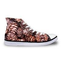 Noisydesigns прогулочная обувь дышащие высокого верха Резина Мода Для мужчин студент индивидуальные образы Туфли без каблуков Лидер продаж повс...