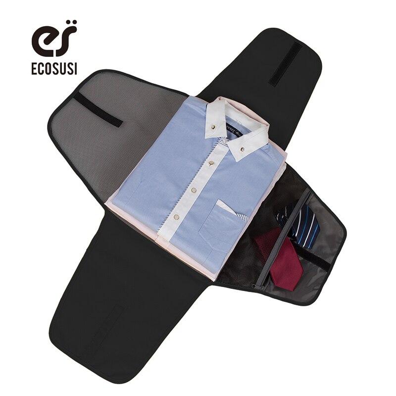 """Ecosusi Accessoires De Voyage 17 """"Chemise Cravate Sacs D'emballage Pour T Chemises Dossier Anti-rides Sac De Vêtement Voyage Valise"""