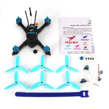 HGLRC XJB-145MM FPV Racing Drone with OSD Omnibus F4 28A 2-4S Blheli_S ESC 25/100/200/350mW Switchable VTX BNF Version