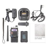 """מכשיר הקשר Baofeng BF-UVB2 פלוס מכשיר הקשר Dual Band VHF / UHF 136-174MHz / 400-520MHz 128CH שני הדרך רדיו BF UVB2 מקמ""""ש (5)"""