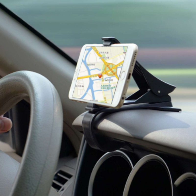 Mrs win Antiskid Car Phone Holder Dashboard Mount Clip Clamp Adjustable Phone Stand Bracket GPS For iPhone Samsung Xiaomi Huawei