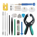 DIYFIX 20 in 1 Phone Repair Tools Kit Spudger Pry Disassemble Opening Tool Screwdriver Set for iPhone 5 5s 6 6s Tablet PC