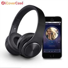 Bluetooth Headphone For Samsung Galaxy J3 J5 J7 2016 2017 Prime J7 Pro Max Duo J4 J6 2018 Foldable Wireless Earphone With MIC(China)
