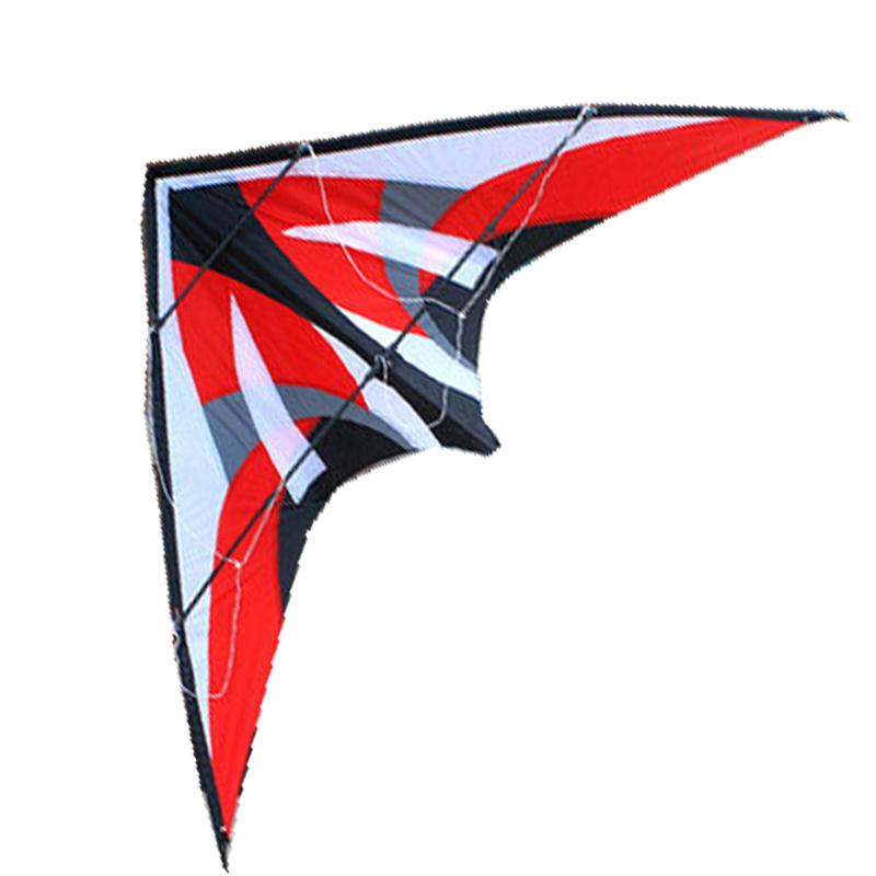 Free Shipping 2015 NEW Outdoor Fun Sports 1.8m Dual Line Ling Yun Stunt Kite With Handle And Line Good Flying Factory Outlet цена