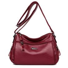Новое поступление маленькие сумки через плечо для женщин из натуральной кожи сумки через плечо женские сумки-мессенджеры
