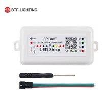 SP108E LED Wifi Magic Controller WS2812B WS2813 Etc LED Strip Module Light Smart APP Wireless Control IOS 10/Android 4.4 DC5-24V