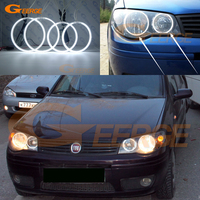 For Fiat Albea 2005 2006 2007 2008 2009 2010 2011 2012 Excellent Ultra bright illumination CCFL angel eyes kit Halo Ring