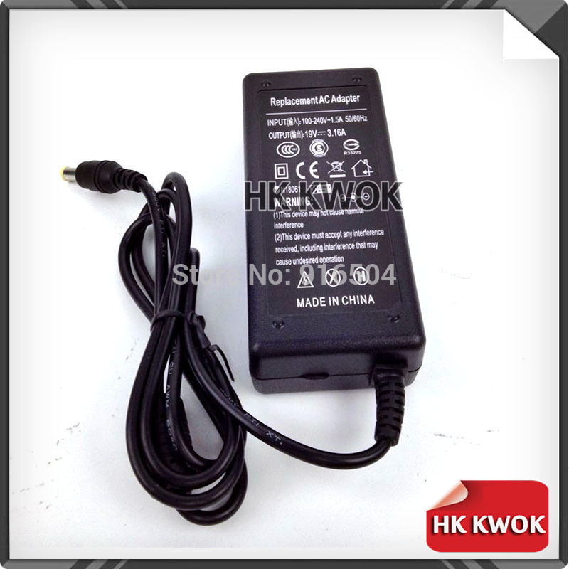 19V 3.16A 5.5 * 3.0mm AC Power Laptop Adapter För Samsung R429 RV411 - Laptop-tillbehör - Foto 3