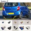 Auto aufkleber abdeckung schalldämpfer außen zurück ende rohr widmen auspuff tip tail outlet ornament 1 stücke Für Suzuki CELERIO 2016 -2019