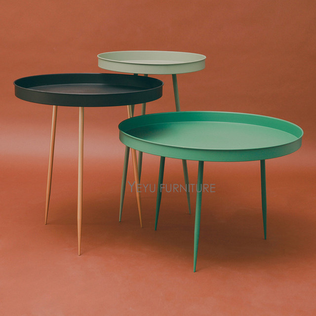 Kleine Side Table.Us 199 0 Aliexpress Com Koop Moderne Ontwerp Metalen Staal Bijzettafel Mode Loft Ontwerp Lade Tafel Sofa Hoek Kleine Bijzettafel Salontafel