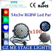 Wholesale 100pcs Lots Fast Shipping American DJ Mega Tri Par Profile Bright Stage LED Wash Light