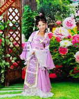 Kids' Classical Dance Costume Stage Performance Wear Photo House Costume for Girls SD Doll Same Design