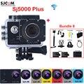 Original SJCAM SJ5000 Plus WiFi 30M Waterproof Mini Extreme Sports Action HD Camera Sj 5000 plus Cam DVR With Many Accessories