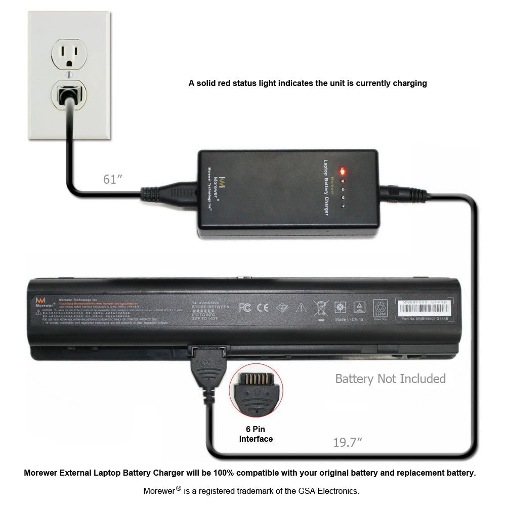hight resolution of morewer laptop battery charger for hp pavilion dv9000 dv9100 dv9200 application architecture diagram hp battery diagram