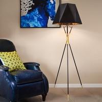 Nordic Floor Lamps LED lampara de pie for Living room bedroom Home Lighting Fixture staande lamp Fabric Modern Lights Bar Hotel