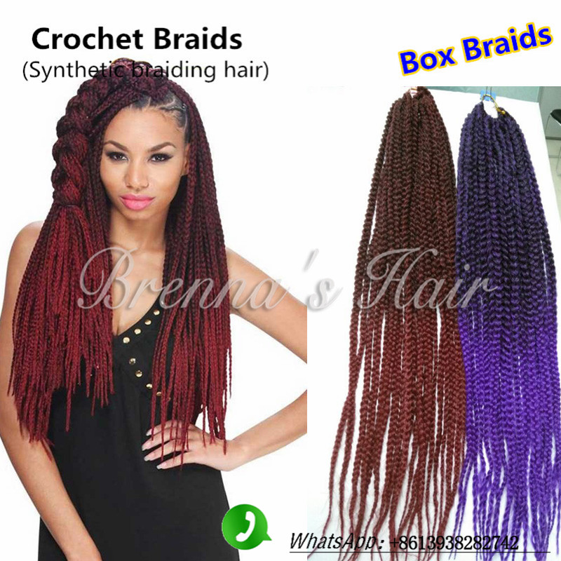 Peachy Aliexpress Com Buy 18 3S Box Braids Crochet Braids Synthetic Short Hairstyles For Black Women Fulllsitofus