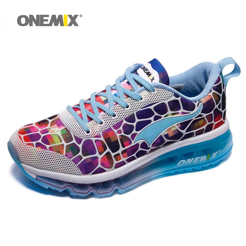 Prix pour Onemix 2017 air chaussure de course pour femmes hommes sport chaussure respirant mesh athletic extérieure chaussures athletic marche sneakers