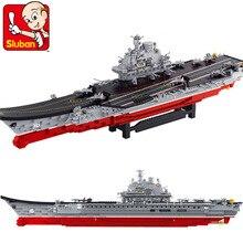Building Block Sets Compatible con lego portaaviones militar 1:350 Pasatiempos Educativo 3D de Construcción de Ladrillo Juguetes para Los Niños