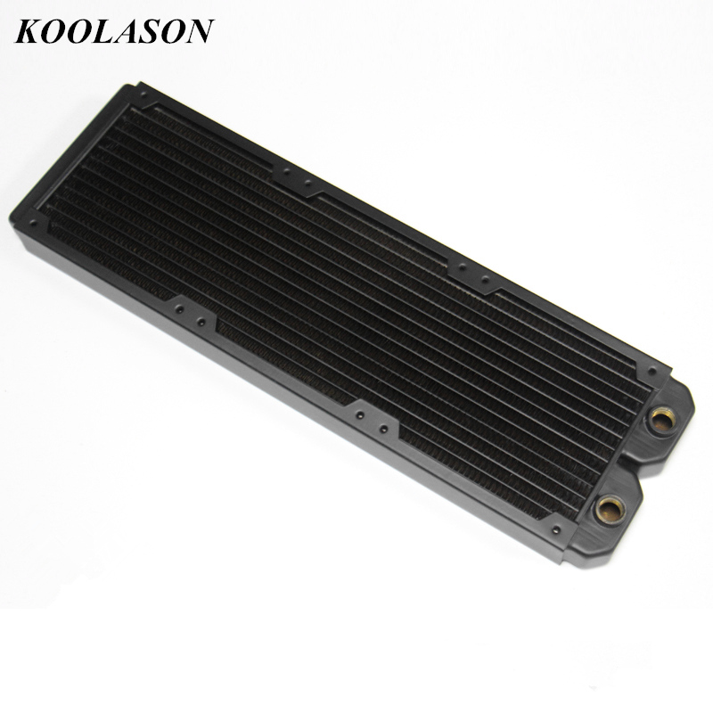 360*30*120mm G1/4 computer water cooling copper fin heat exchanger radiator Heat sink notebook graphics card thermal conductivity copper cooling copper 30 30 3 0mm pure copper computer heat fins 30x30x3 0 radiator